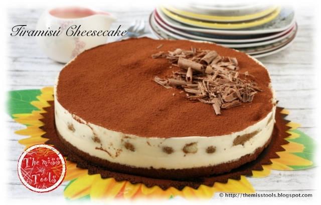 Tiramisú-Cheesecake al brandy con un tocco di peperoncino (No-Bake ...