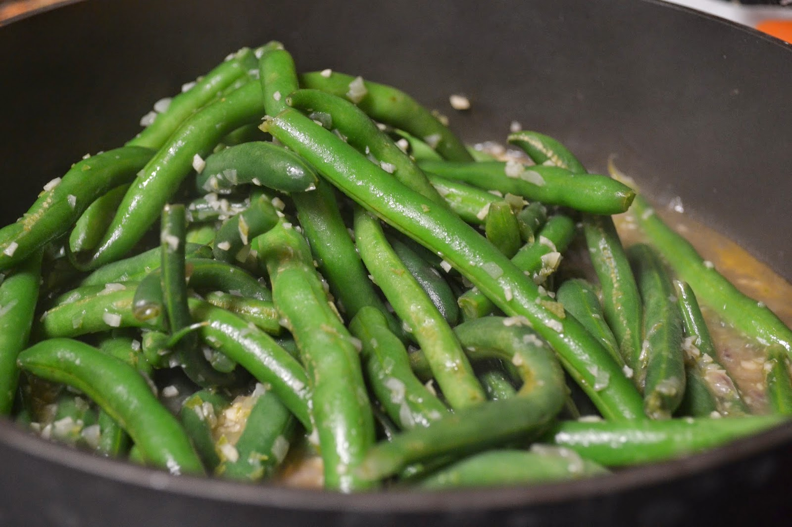 lime mint green beans