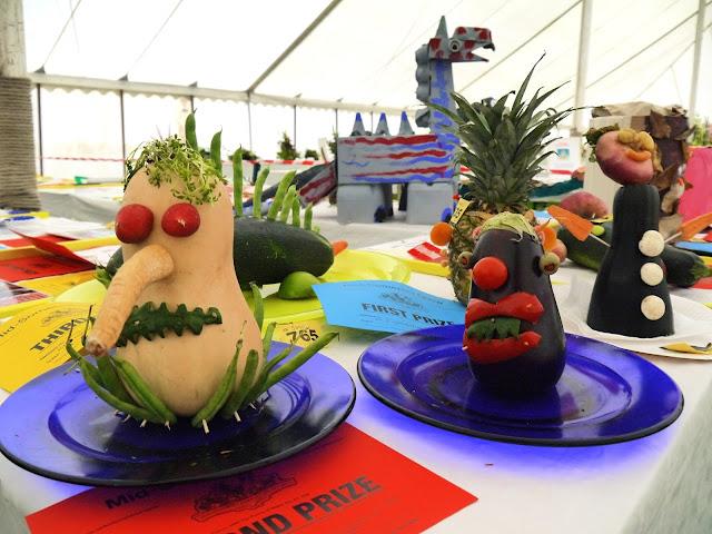 Vegetable monsters