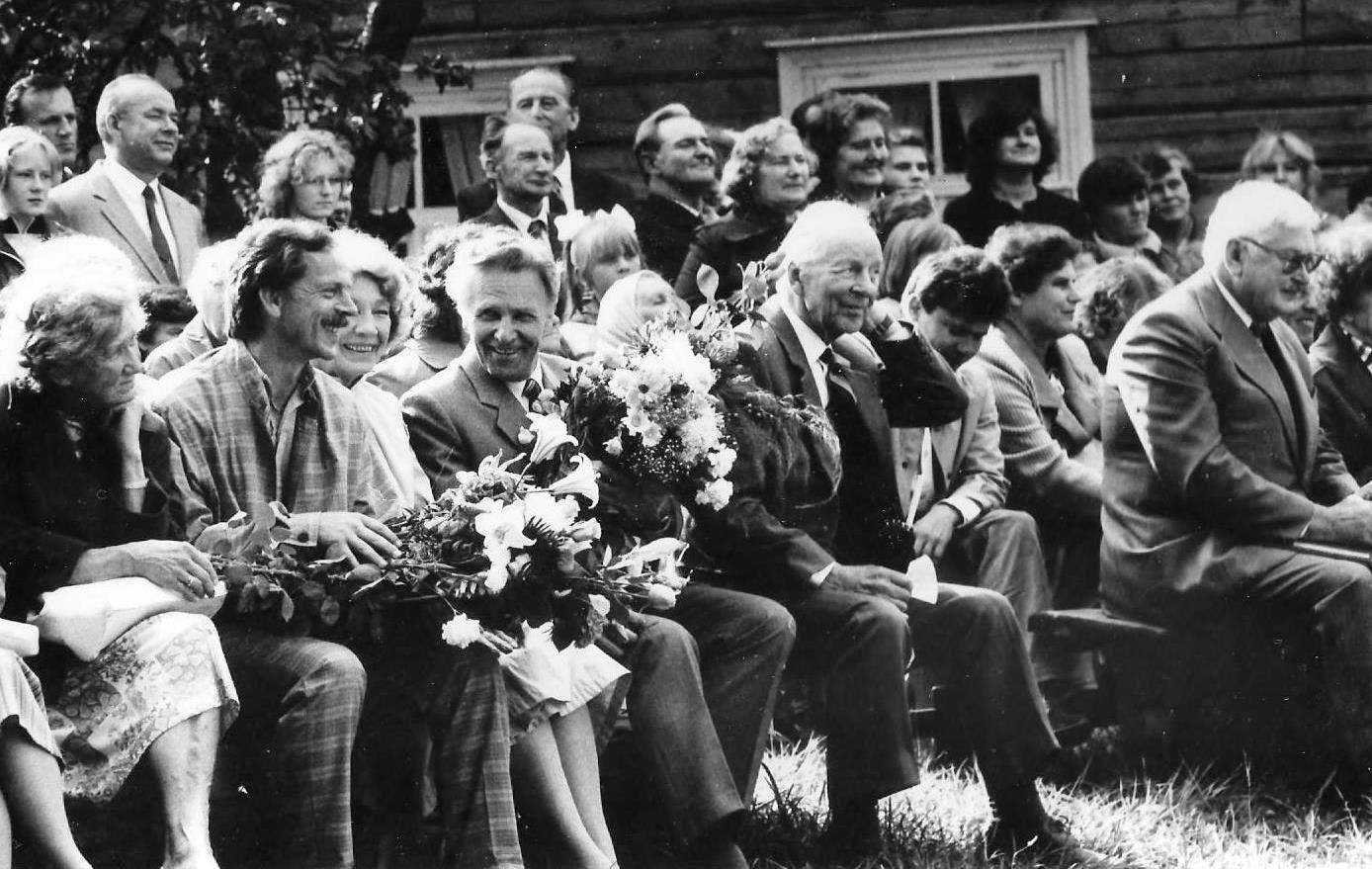 Alfrēda Amtmaņa-Briedīša muzejā 1987. gada 5. augustā - 1