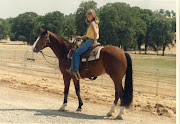 Here I am, young, proud of my horse, and ready to train him to be a world .