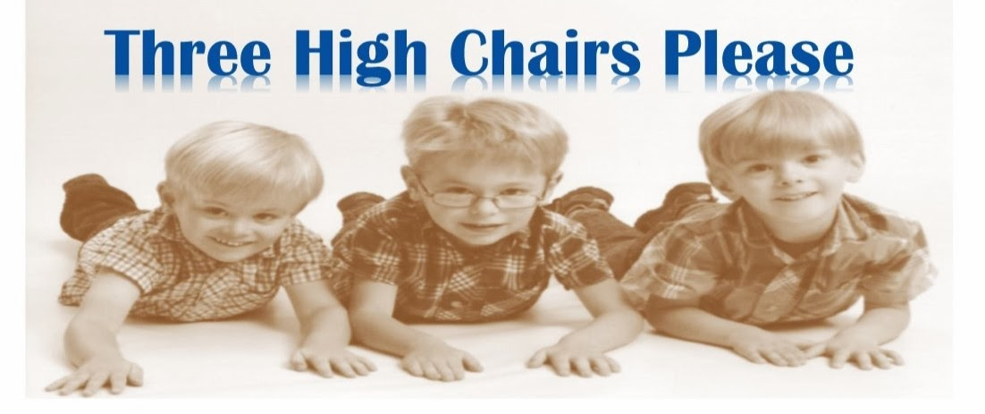 Three High Chairs Please