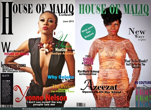 Yvonne Nelson and Azeezat For HOUSE OF MALIQ EXCLUSIVE