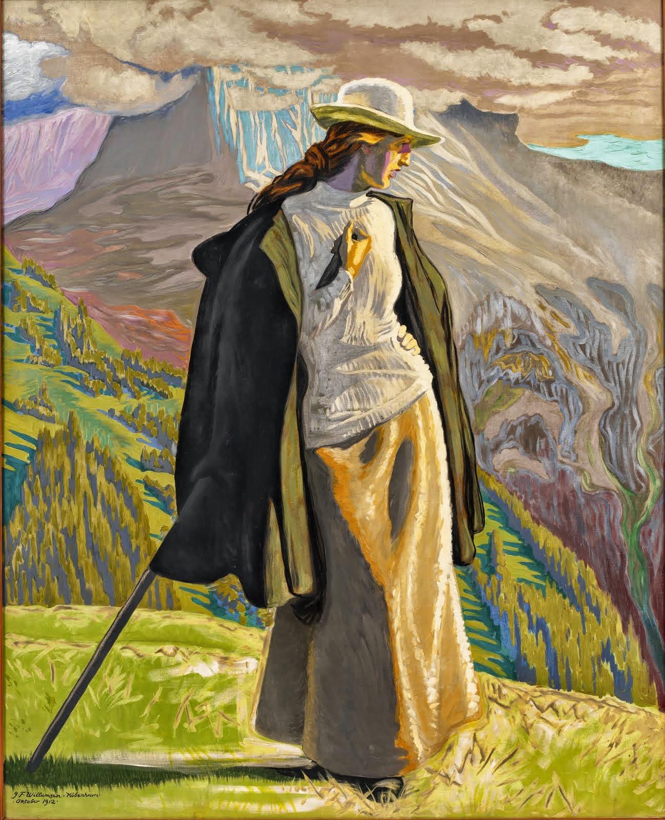 Jens Ferdinand Willumsen 1863-1958
