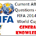 FIFA World Cup 2014 General Awareness Questions  on Current Affairs Event