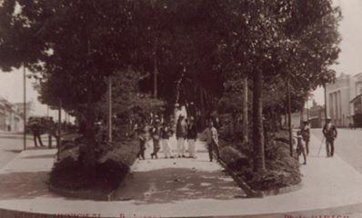 Praça da Intendencia atual Andradas - Barbacena MG