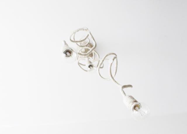 lampa DIy zrób to sam,blog DIy majsterkowanie,jak zrobic lampę z przewodu, kabla,prosta lampa design,nowoczesna lampa DIY