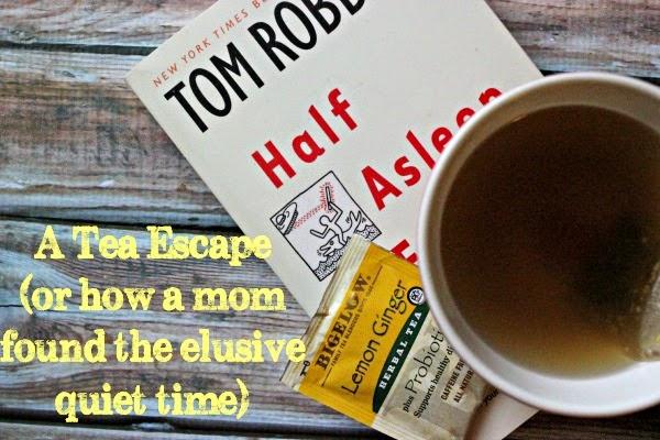 A Tea Escape (Or how a mom found the elusive quiet time) #AmericasTea #CollectiveBias #Shop