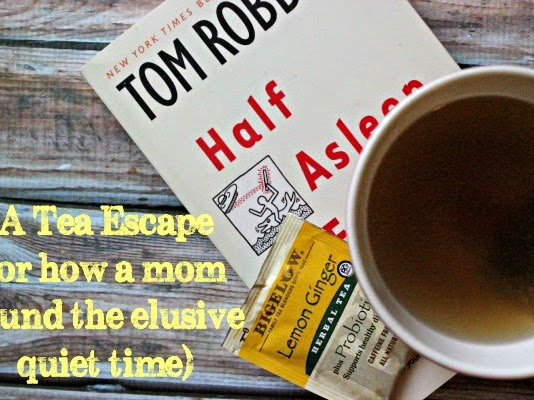 A Tea Escape (Or how a mom found the elusive quiet time)