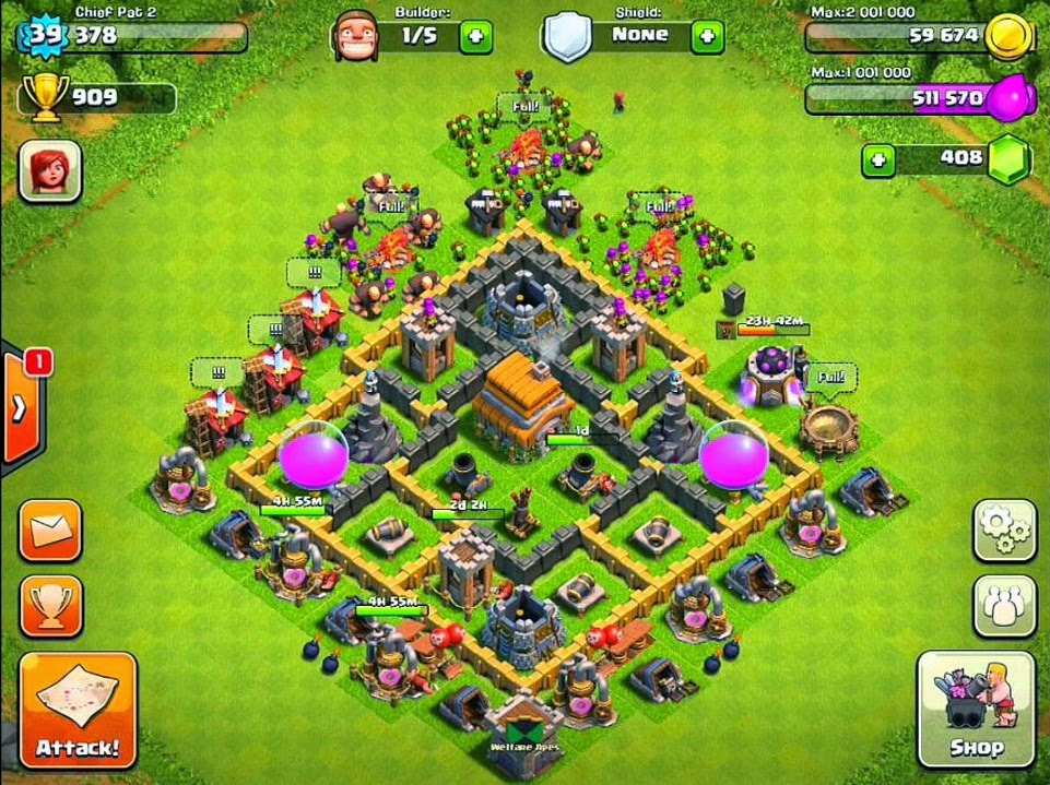 clash of clans town hall 5 layout clash of clans strategy guide