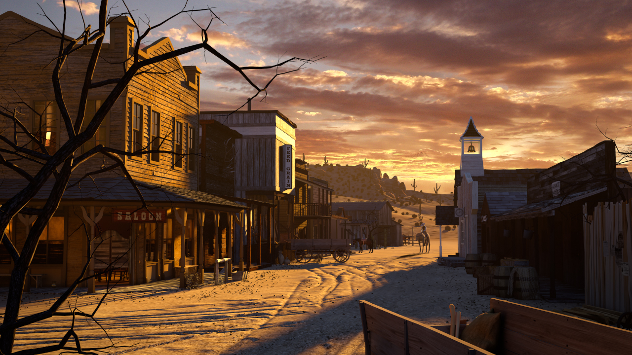 western town background - photo #6