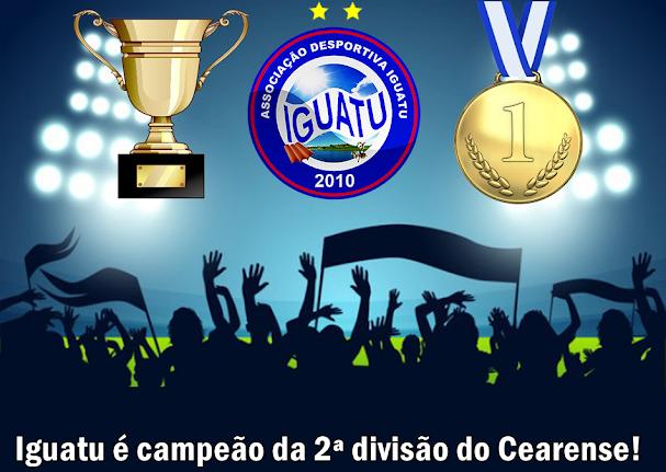 IGUATU CAMPEÃO DA SÉRIE B CEARENSE!