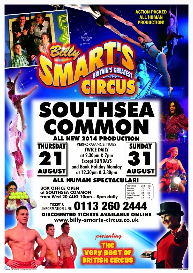 Poster for Billy Smart's Circus