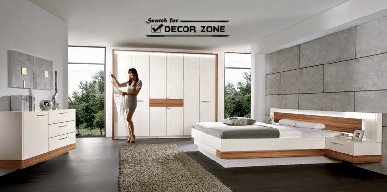 Bedroom Designs And Ideas In Hightech Style Interior - High tech bedroom design