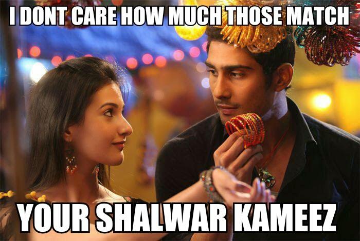 Prateik Babbar, Amrya Dastur Issaq Bollywood Meme