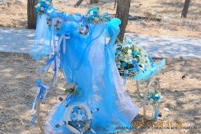 Flowers wedding - γάμος, βάπτιση λουλούδια