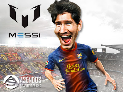 Lionel Messi Football Player