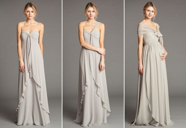bridesmaids dresses for pregnant & not pregnant women