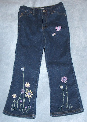 Best Model Painted Jeans