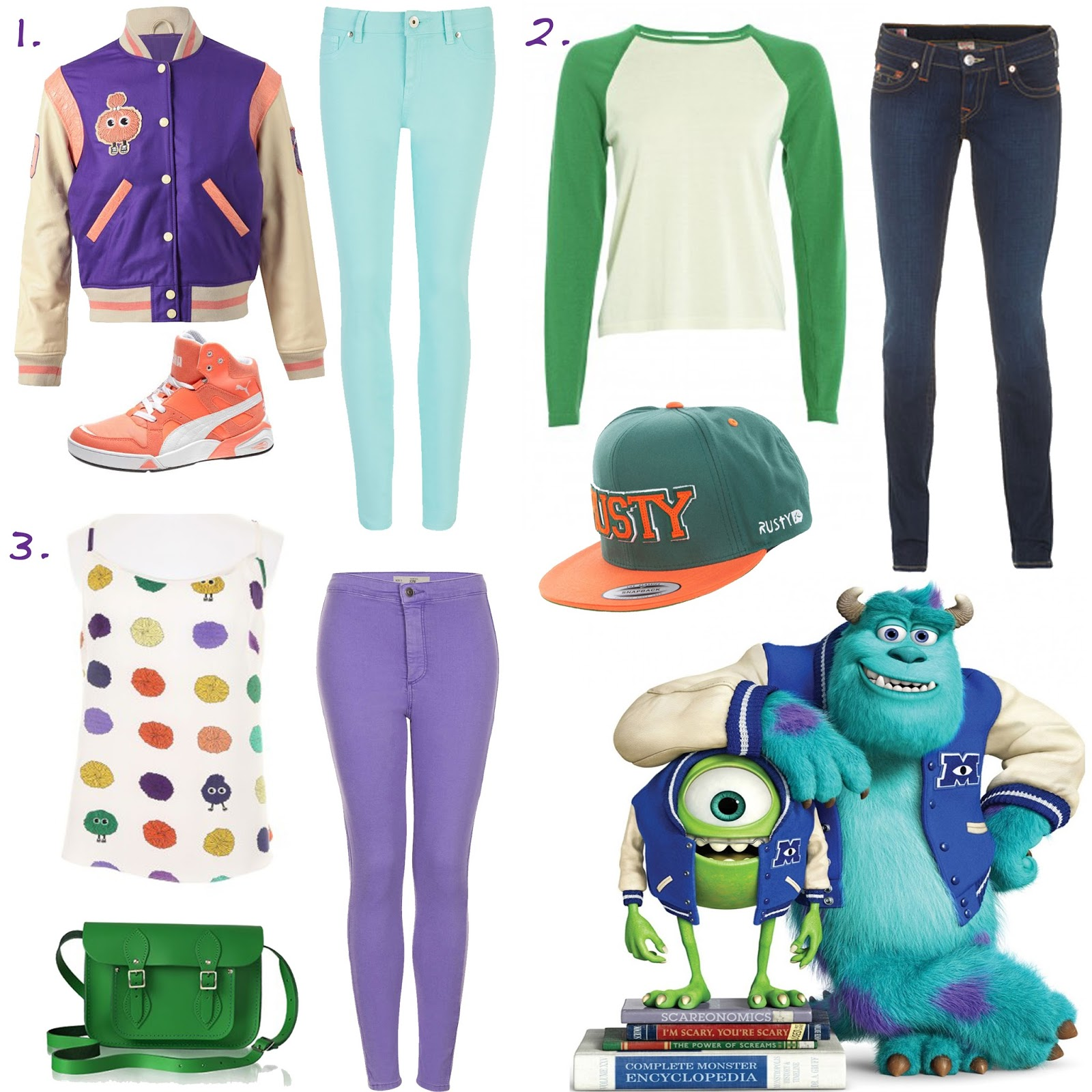 Back to School with Monsters University - Fun Post