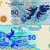 CFK presentó un nuevo billete de 50 pesos con la imagen de las Malvinas que convivirá con el de Sarmiento