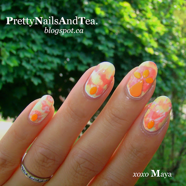 PrettyNailsAndTea | DIY Festival Nail Style