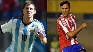 Argentina vs Paraguay en Copa américa 2015
