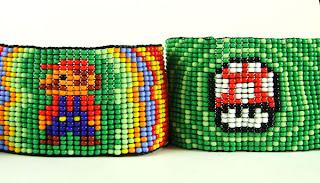 jenys artesanos: manillas en mostacilla checa