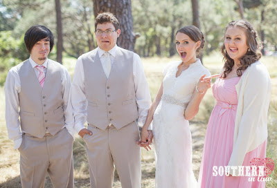 Funny Bridal Party Photos - Centennial Park Sydney