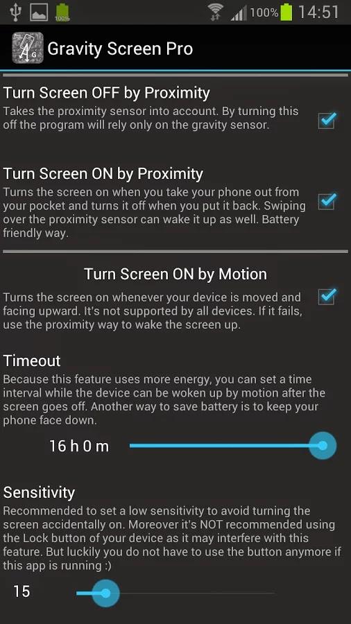 Gravity Screen Pro - On/Off v1.78.8