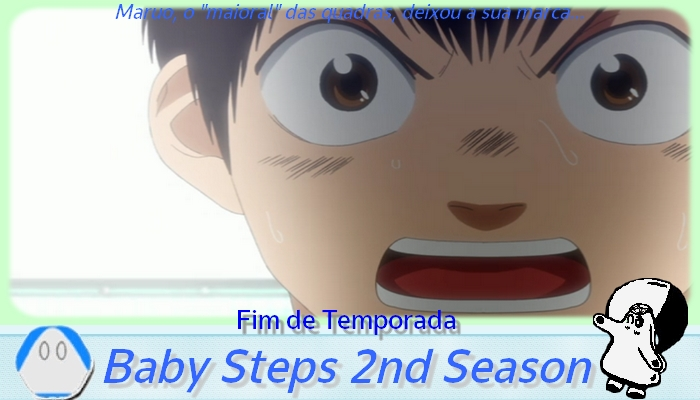 Fim de temporada baby steps 2nd season netoin