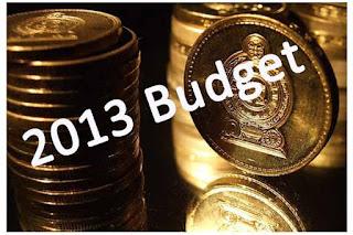Sri Lanka Budget 2013