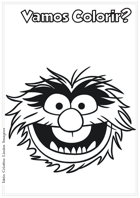 Os Muppets desenho para colorir