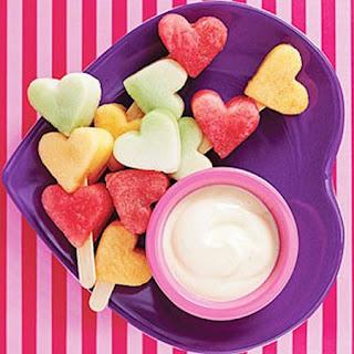 Ideas para un Romantico Desayuno de San Valentin, Decoracion con Frutas