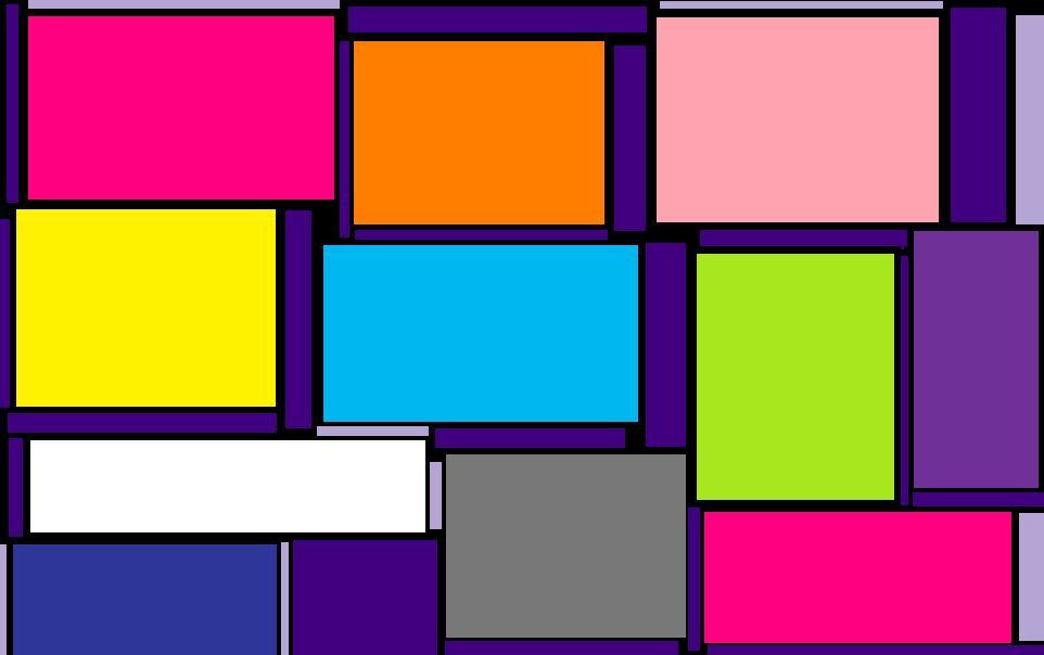 Papier peint vinyle expansé sur intissé Polygone  - Papier Peint Multicouleur