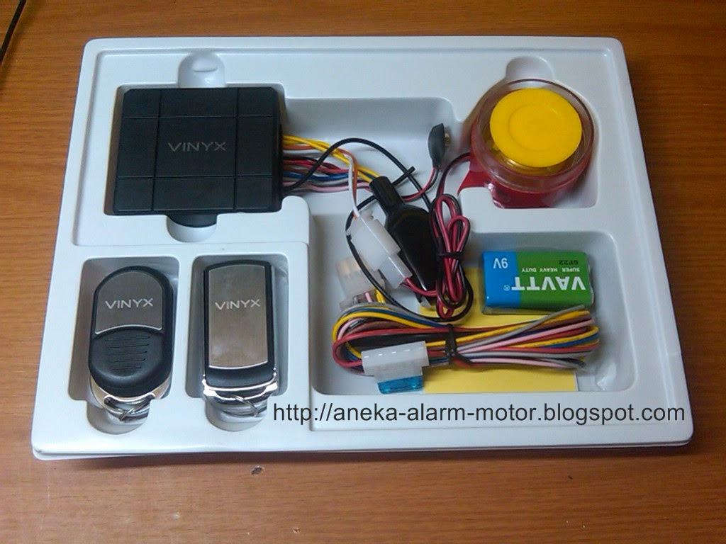 Aneka Alarm Motor ANEKA MACAM ALARM MOTOR REMOTE