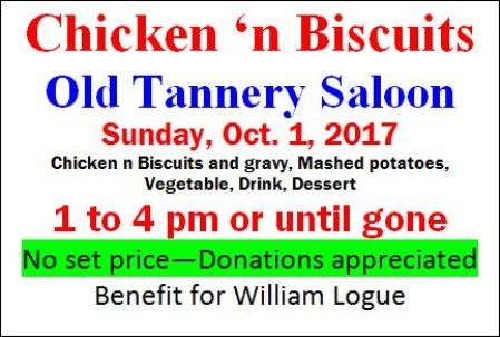 10-1 Chicken & Biscuits, Old Tannery Inn, Costello