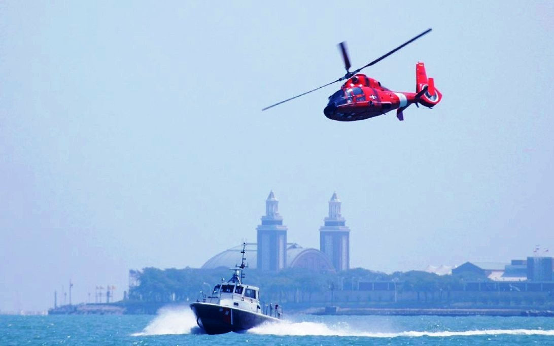 HH-65 Dolphin Helicopter Wallpaper 4