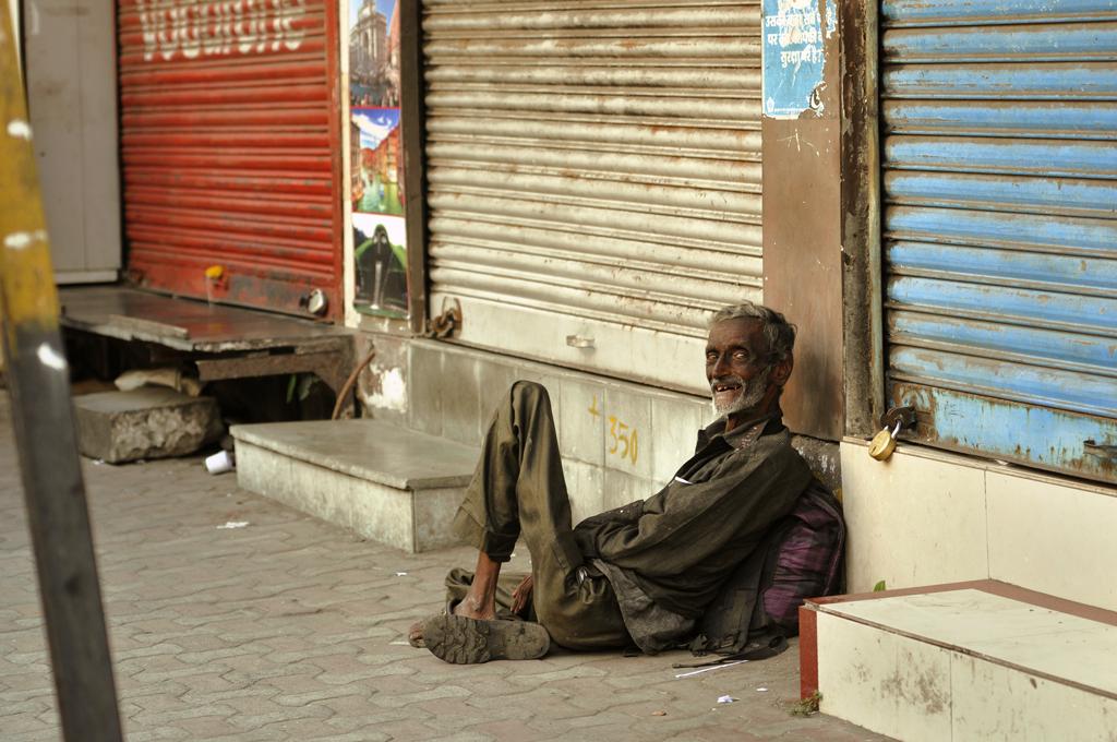 Street portrait from Girgaon in Mumbai