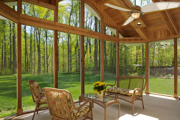 Home remodeling ideas sunroom addition plans for Home plans with sunrooms