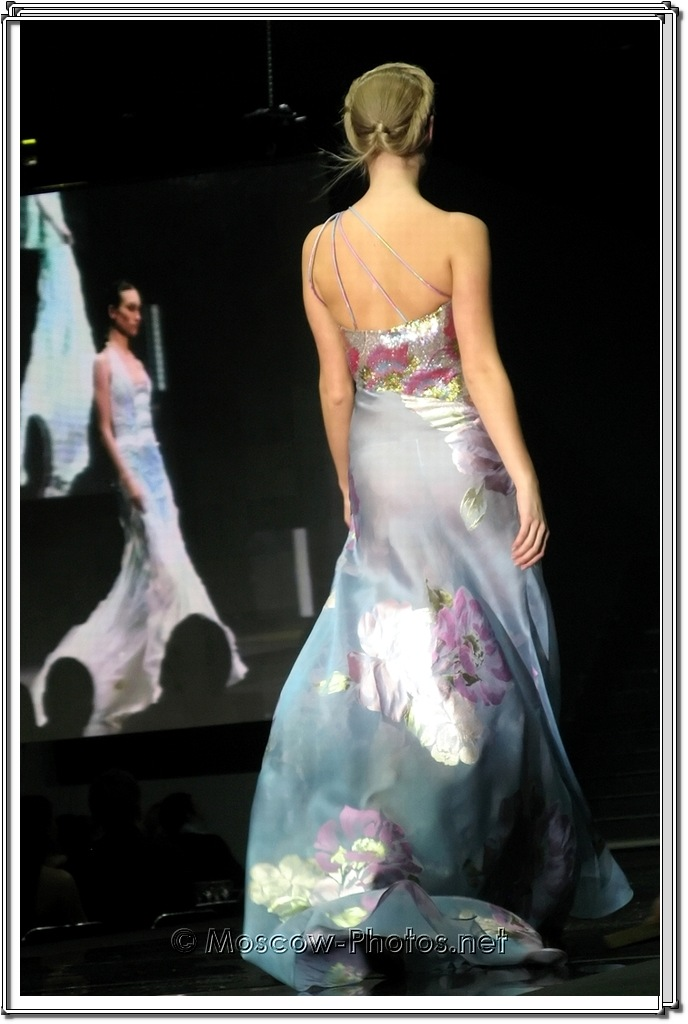 Tony Ward Collection. Moscow Fashion Expo - 2007