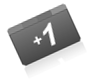 google plus one button knopka