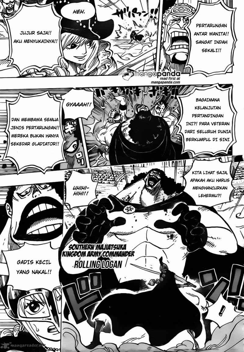 Baca Komik One Piece Chapter 725 726 Bahasa indonesia - English by
