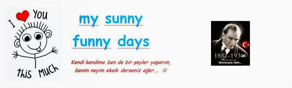 my sunny funny days