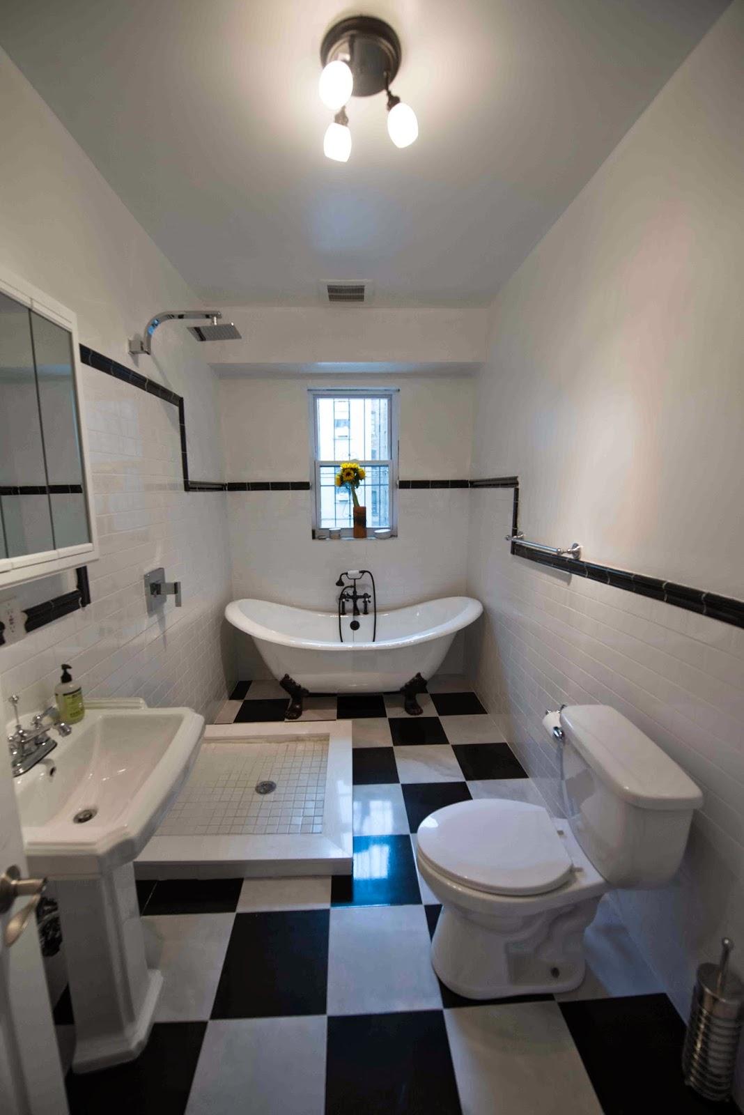 Drömmen om ett hus i New York: Vårt nya badrum är klart!