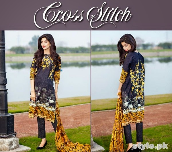 Cross Stitch Lawn Dresses Summer 2015
