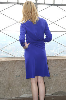 Emma Stone Visting The Empire State Building