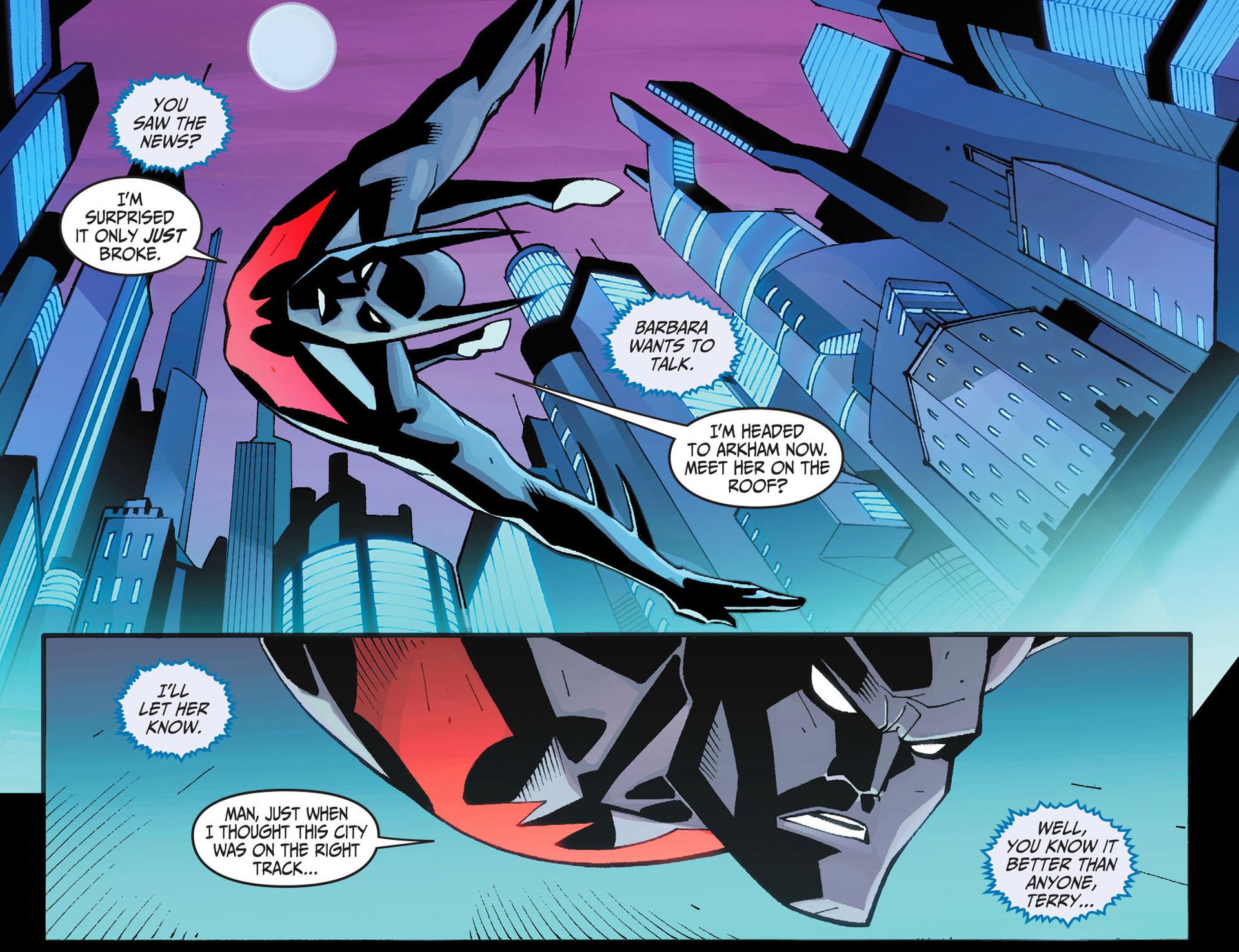 Batman Beyond 2.0 #1 #40 - English 21