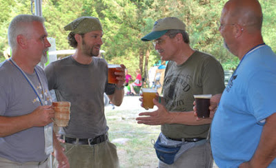 Jimmy Chalmers, Bryan Berghoef, and Michael Camp at Wild Goose Festival, June 2012