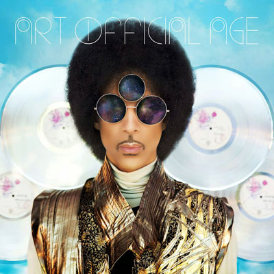 The 10 Worst Album Cover Artworks of 2014: 09. Prince - Art Official Age